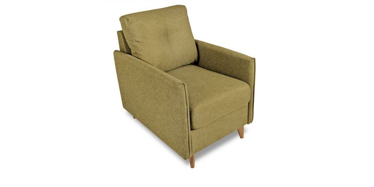 Кресло WOWIN Вест (Темно-песочный микровелюр) - фото 1