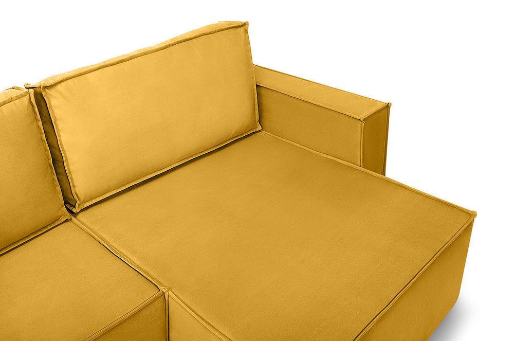 Диван Woodcraft Лофт Velvet Угловой Yellow - фото 9