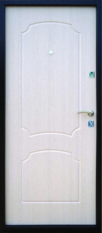 Входная дверь Промет Логика беленый дуб (полимер, 950 мм левая) - фото 2
