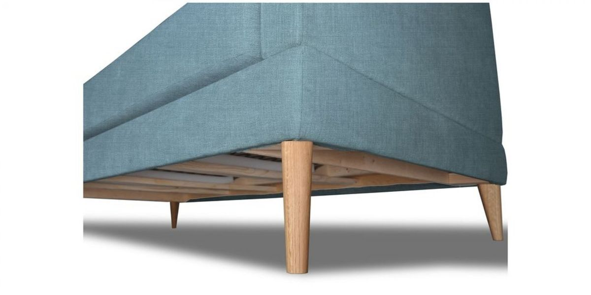 Кресло WOWIN Полар (Бледно-васильковая рогожка) - фото 5