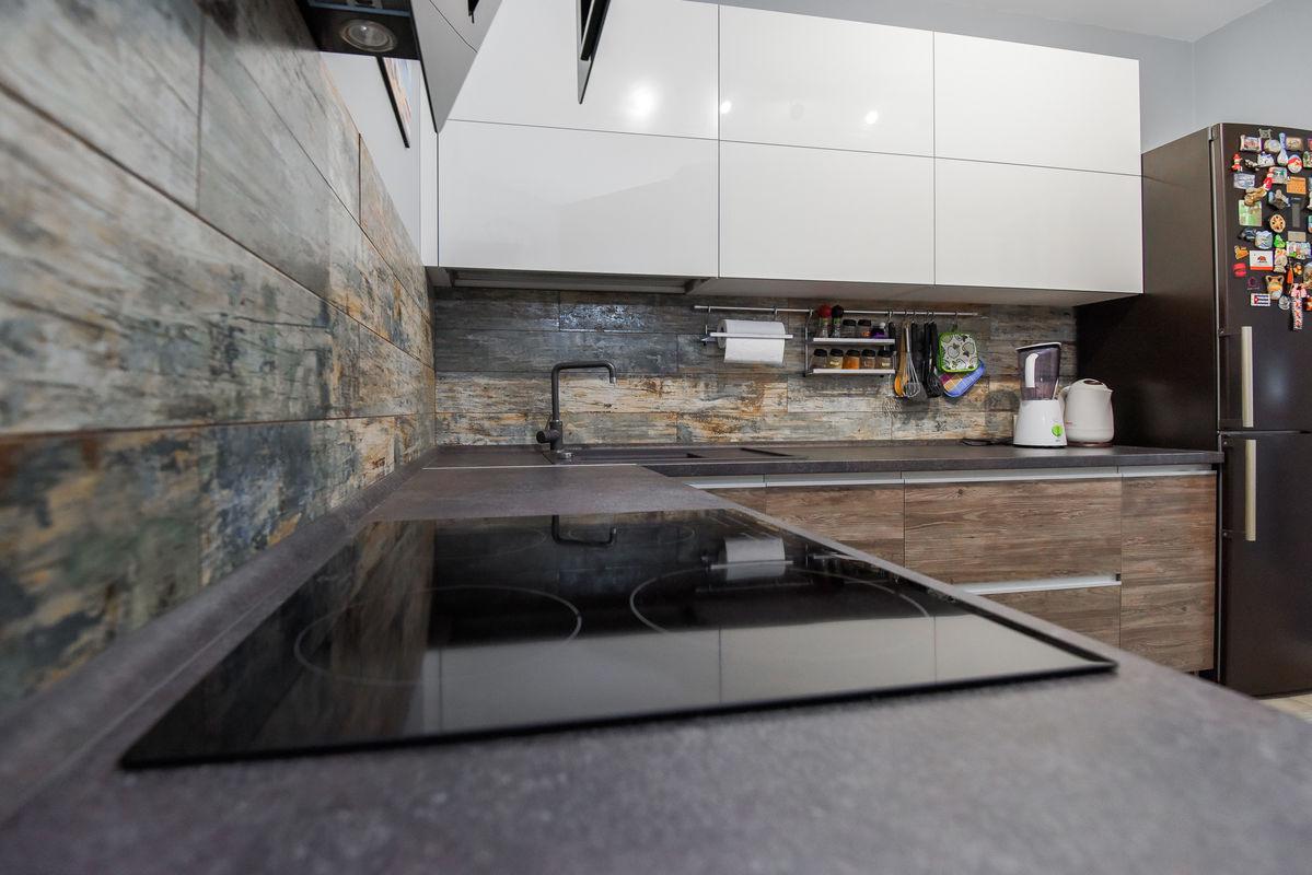 Кухня Шеф кухни из акрила и CLEAF - фото 19