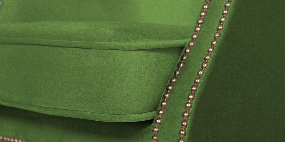 Кресло WOWIN Голден (Зеленый велюр) - фото 7