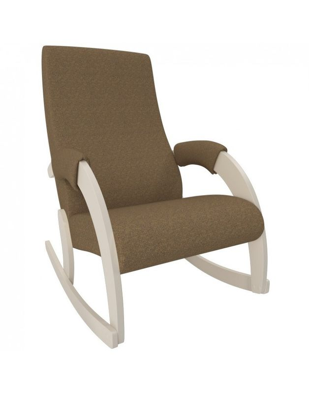 Кресло Impex Модель 67M  Мальта Сливочный (Мальта 17) - фото 3