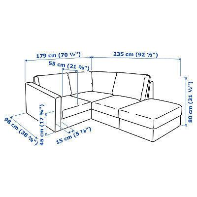 Диван IKEA Вимле 3-местный [592.115.38] - фото 6
