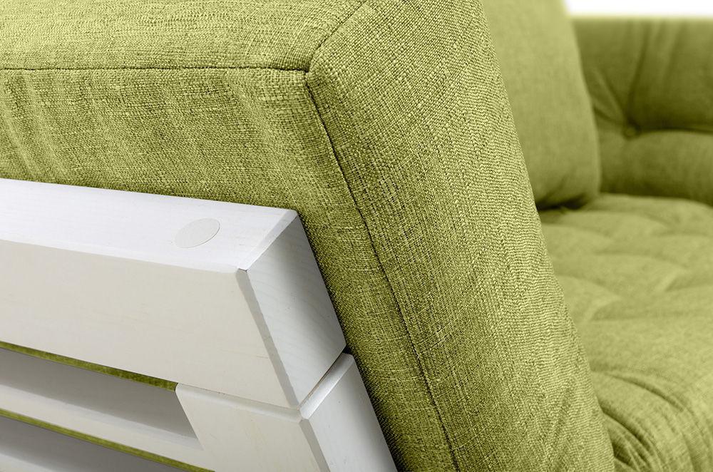 Диван Woodcraft Балтик Textile Кушетка Lime - фото 10