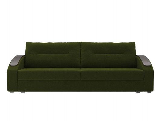 Диван ЛигаДиванов Канзас 100960 микровельвет зеленый - фото 4