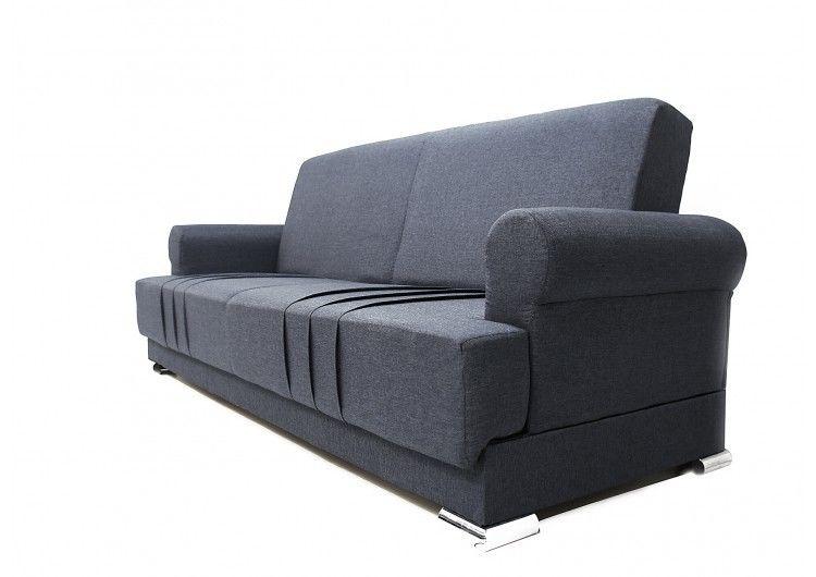 Диван Луховицкая мебельная фабрика Дели серый - фото 2