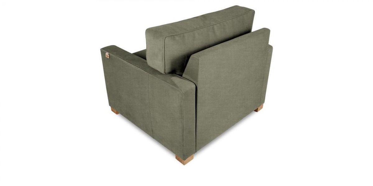 Кресло WOWIN Табу (Металлическо-серая рогожка) - фото 4