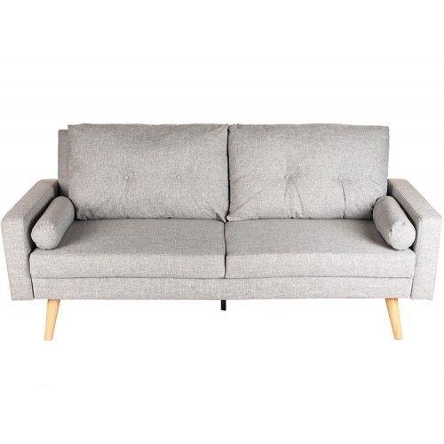 Диван Альта Мебель Bjorn (Бьёрн) светло-серый - фото 1