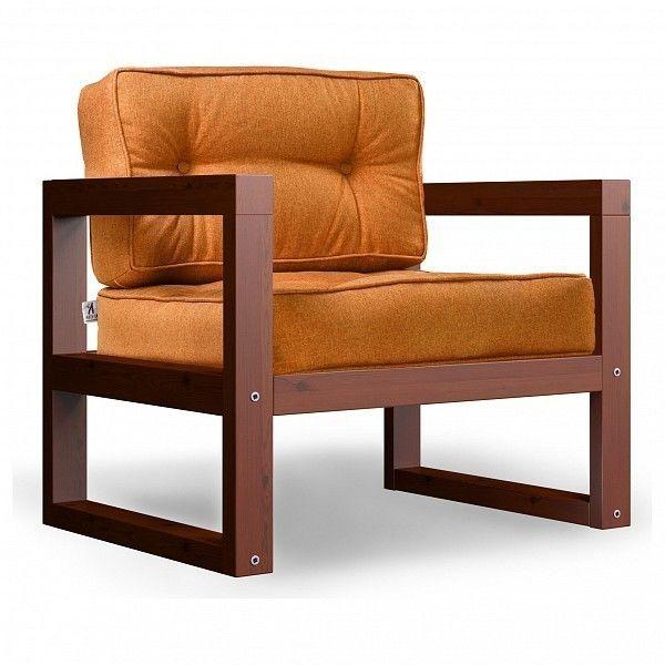 Кресло Anderson Астер AND_122set230, оранжевый - фото 1
