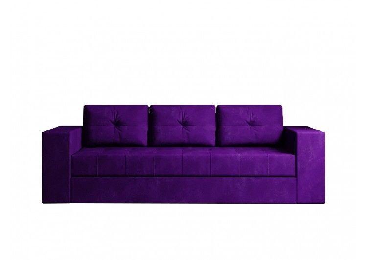 Диван Настоящая мебель Ванкувер Лайт (модель: 00-00003450) фиолетовый - фото 1