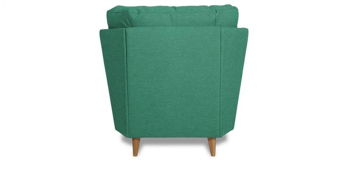 Кресло WOWIN Хюгге (Бирюзово-голубая микророгожка) - фото 4