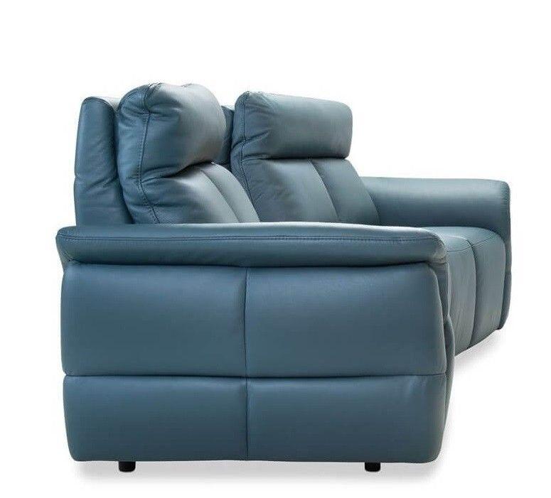 Набор мягкой мебели Gala Collezione Oviedo 285x103x102 (кожа) - фото 4