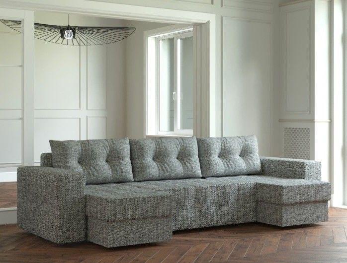 Диван Настоящая мебель Ванкувер Мейсон (модель: 00-00000066) серый - фото 1