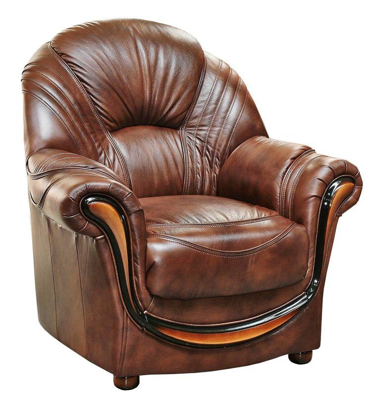 Кресло Пинскдрев Дельта (12) натуральная кожа - фото 4