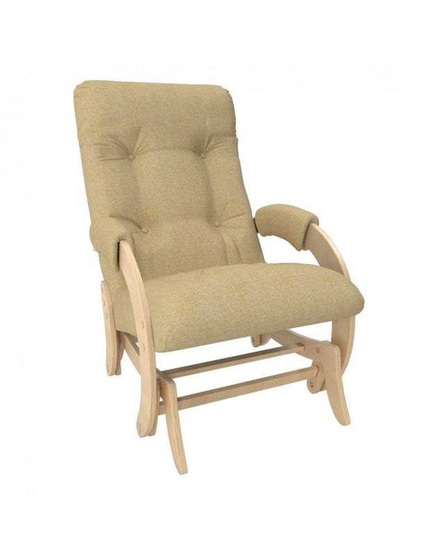 Кресло Impex Кресло-гляйдер Модель 68 Мальта натуральный (Мальта 3) - фото 3
