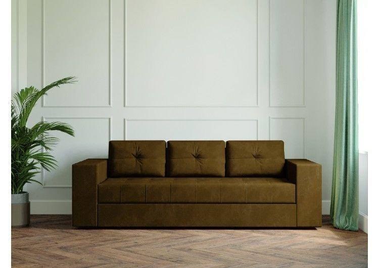 Диван Настоящая мебель Ванкувер Лайт (модель: 00-00003452) коричневый - фото 2