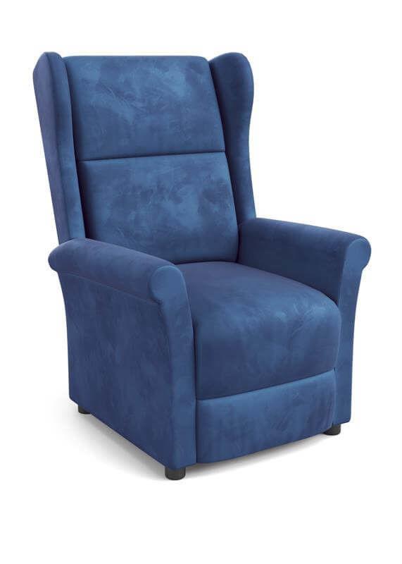 Кресло Halmar Agustin 2 (темно-синий) - фото 1