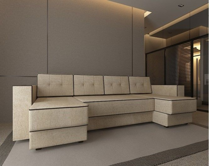 Диван Настоящая мебель Константин п-образный Орландо (модель 90) - фото 1