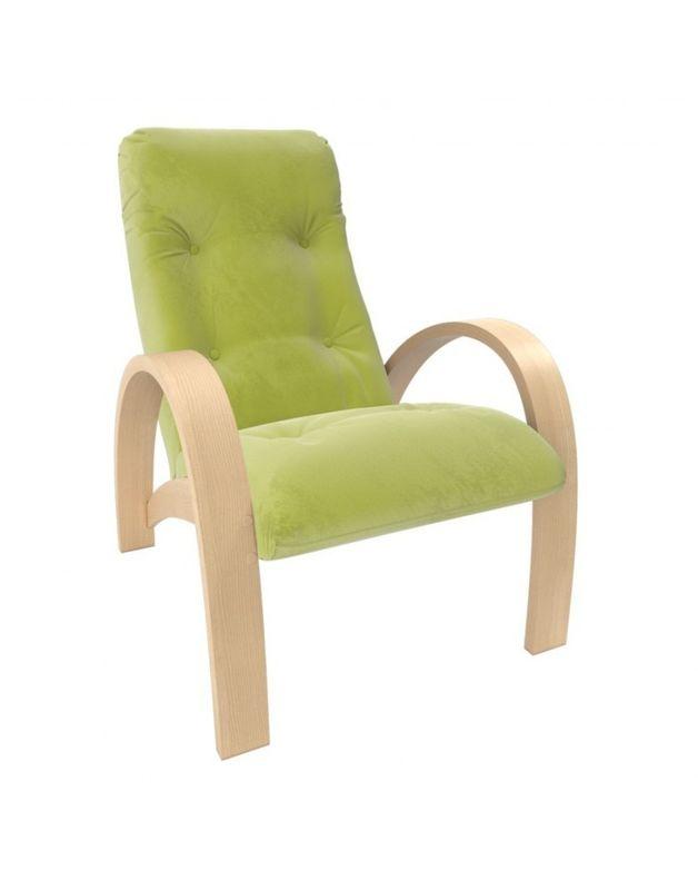 Кресло Impex Модель S7 Verona  натуральное дерево (apple green) - фото 1
