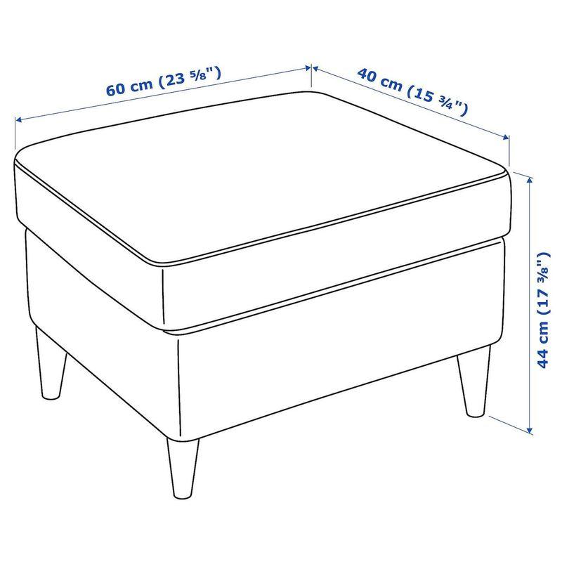 Пуфик IKEA Страндмон 004.198.80 - фото 8