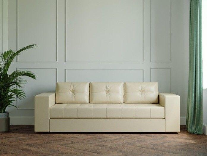 Диван Настоящая мебель Ванкувер Лайт (модель: 00-00001913) бежевый - фото 1