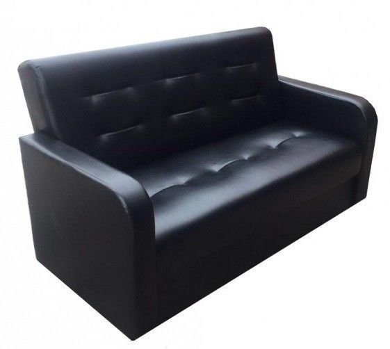 Диван Луховицкая мебельная фабрика Мини аккорд (черный) - фото 3