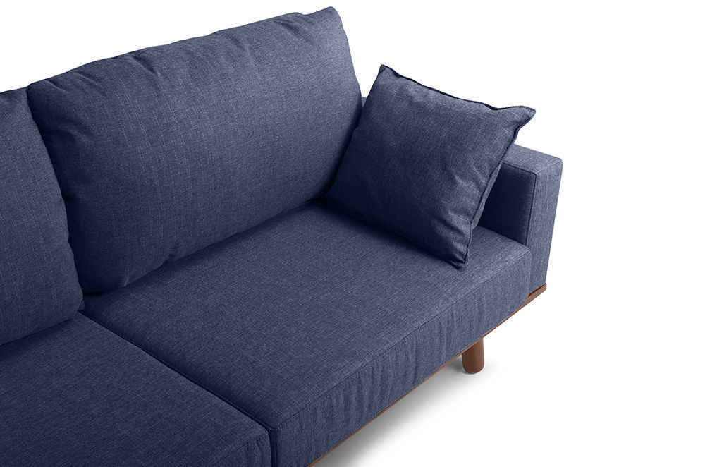 Диван Woodcraft Миннесота Textile Blue - фото 8