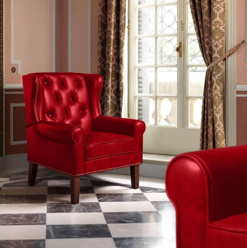 Кресло ZMF Престиж (красный) - фото 1