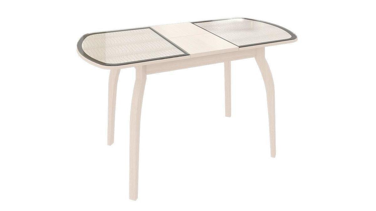 Обеденный стол ТриЯ Ницца 2 раздвижной на деревянных ножках - фото 13
