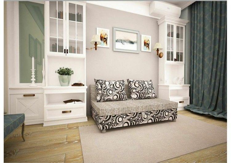 Диван Раевская мебельная фабрика Малыш Рогожка+Круги 00569 - фото 1