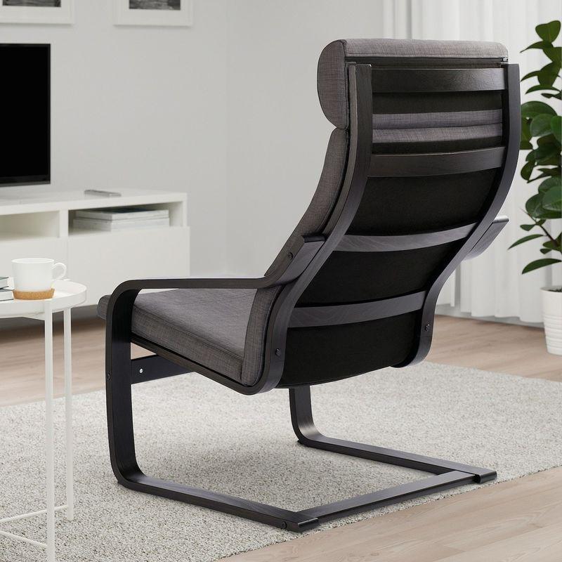 Кресло IKEA Поэнг 393.028.03 - фото 2