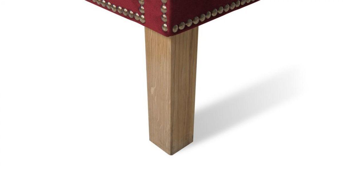 Кресло WOWIN Голден (Бордовый велюр) - фото 8