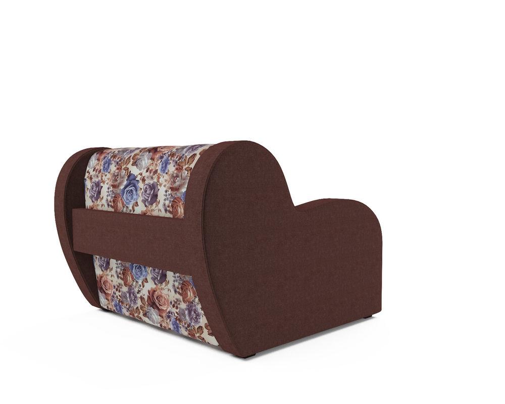 Кресло Мебель-АРС Аккордеон Барон цветы (жаккард + микровелюр) - фото 4