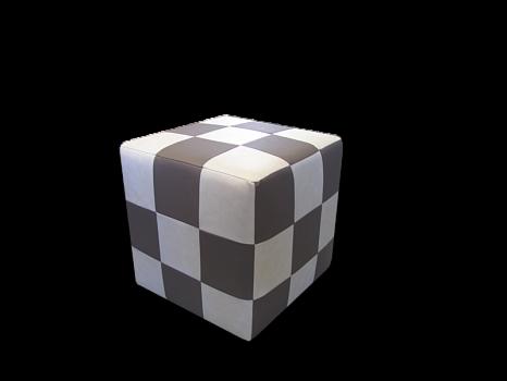 Пуфик Виктория Мебель Кубик СК 2260 - фото 1
