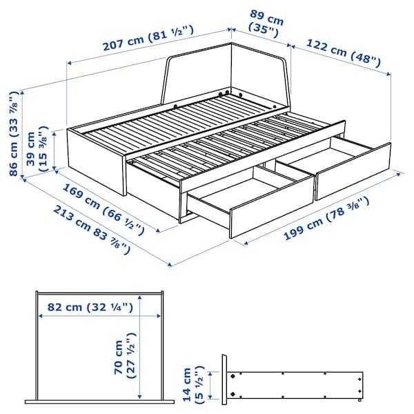 Диван IKEA Флекке 903.691.35 - фото 8