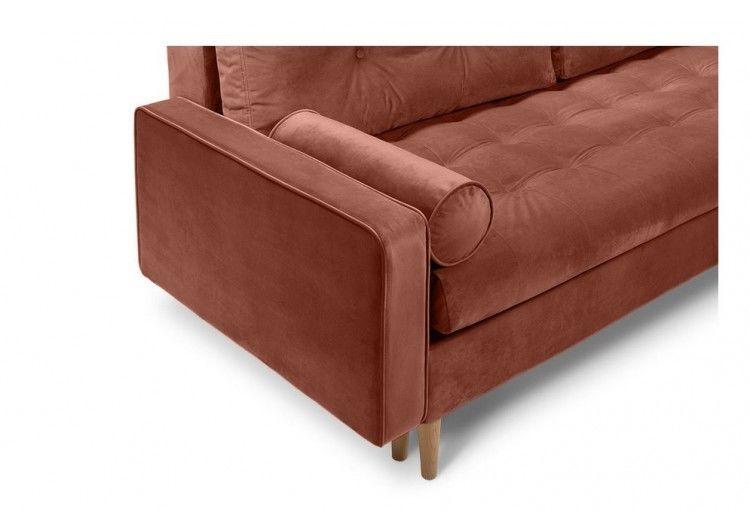 Диван Craftmebel Ситено угловой (вельвет коричневый) - фото 3