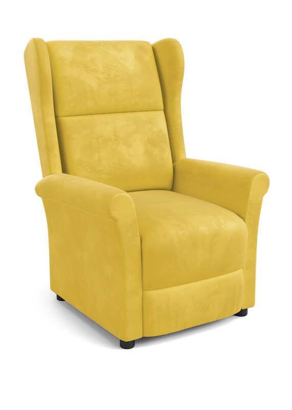Кресло Halmar AGUSTIN 2 (горчичный) V-CH-AGUSTIN_2-FOT-MUSZTARDOWY - фото 1