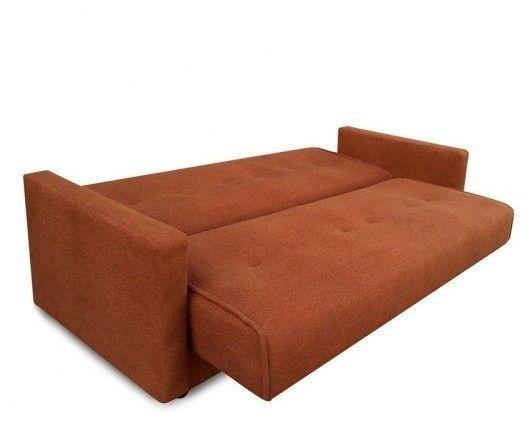 Диван Луховицкая мебельная фабрика Милан (Астра коричневый) 120x190 - фото 4
