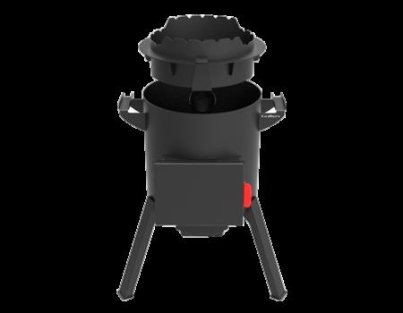 Мангал Grillver Мангал Краун-400 (для печи Берель 400 К) - фото 1