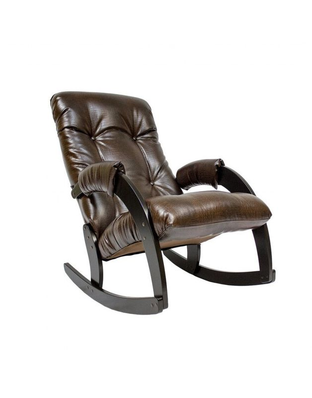 Кресло Impex Модель 67 Экокожа (Антик-крокодил) - фото 1