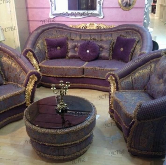 Набор мягкой мебели Устье Беатриче 311 (сирень) - фото 1