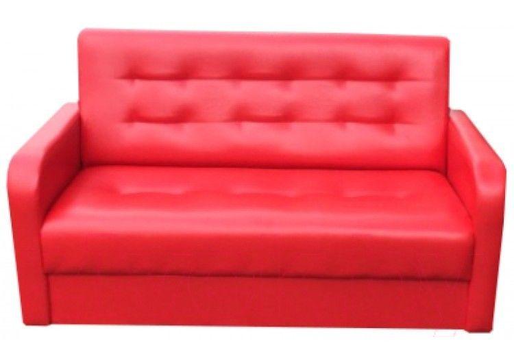 Диван Луховицкая мебельная фабрика Мини аккорд (красный) - фото 1
