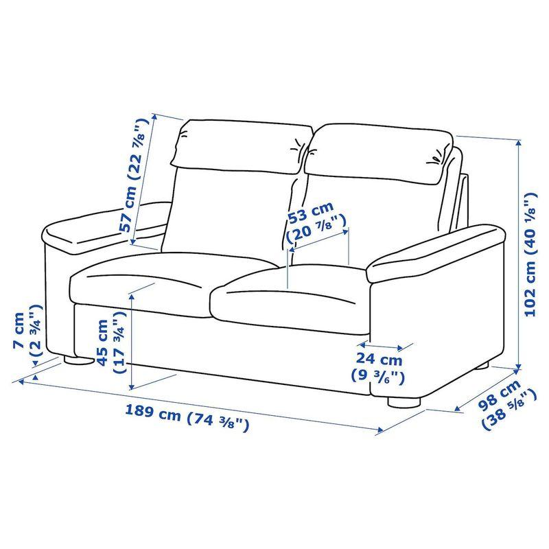 Диван IKEA Лидгульт 992.570.20 - фото 6