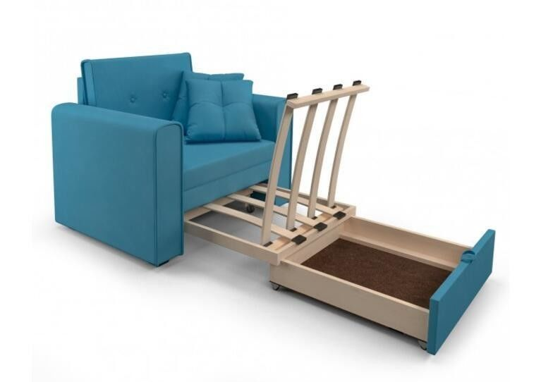 Кресло Craftmebel Санта (синий) - фото 4