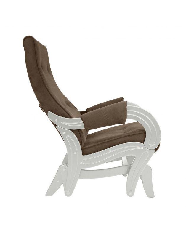 Кресло Impex Кресло-гляйдер Модель 708 Verona сливочный (Antrazite grey) - фото 7