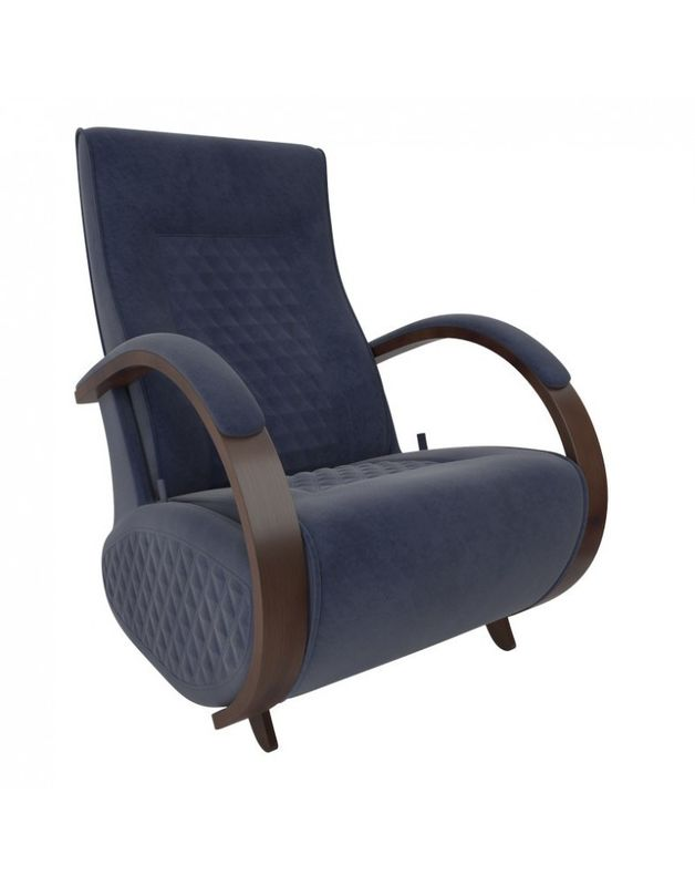 Кресло Impex Balance-3 Verona  орех (denim blue) - фото 1