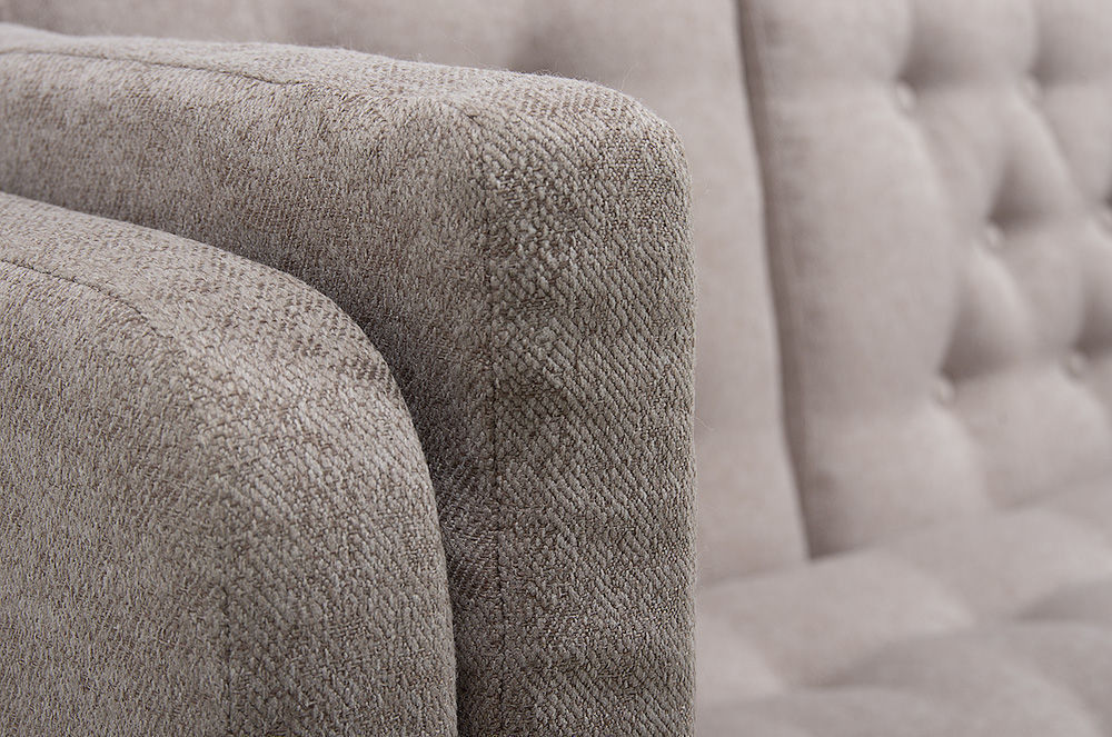 Диван Woodcraft Айверс Textile Beige (прямой) - фото 10