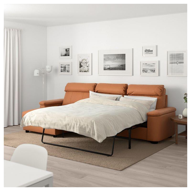 Диван IKEA Лидгульт золотисто-коричневый [692.660.83] - фото 4