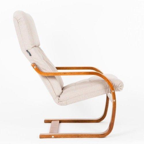 Кресло Greentree Сайма вишня/ткань Миндаль - фото 3